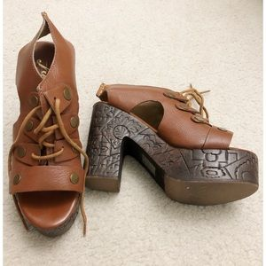 Free People Sandals Size 38